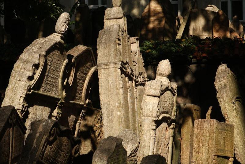 Prague Czech Republic city-break old town architecture tombstones