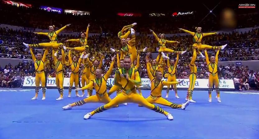 77th UAAP 2014 CDC FEU Cheering Squad VIDEO