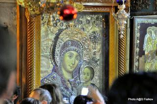 Икона Вифлеемская Божья Матерь. Экскурсия в Иерусалим и Вифлеем. Гид в Израиле Светлана Фиалкова.