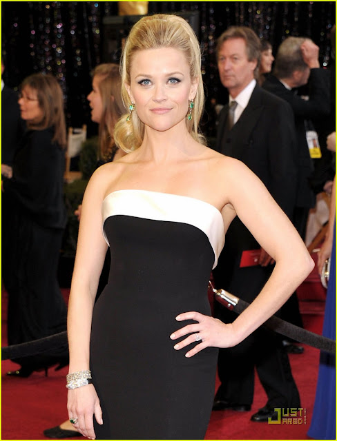 reese witherspoon oscars 2011 earrings. REESE WITHERSPOON OSCARS 2011