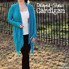 Draped-Shawl Cardigan