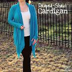 Draped-Shawl Cardigan