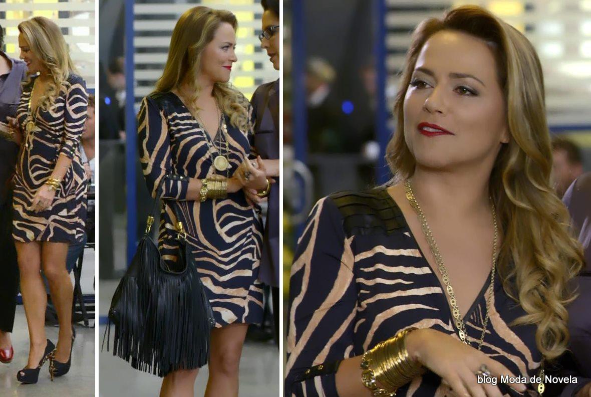 moda da novela Em Família - look da Shirley dia 30 de abril