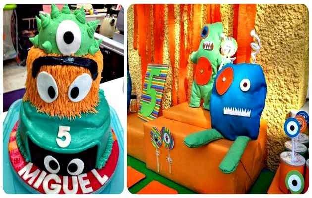 Fiesta temática de monstruos para niños 1