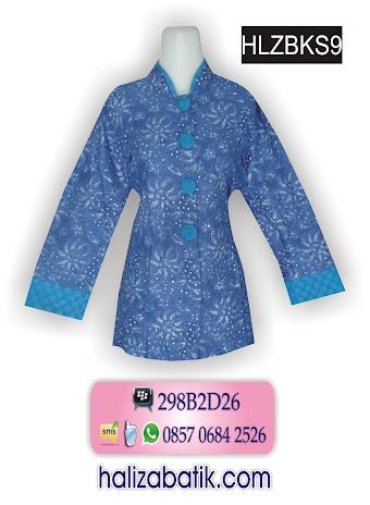 grosir batik pekalongan, Batik Muslim, Model Busana, Baju Batik Terbaru