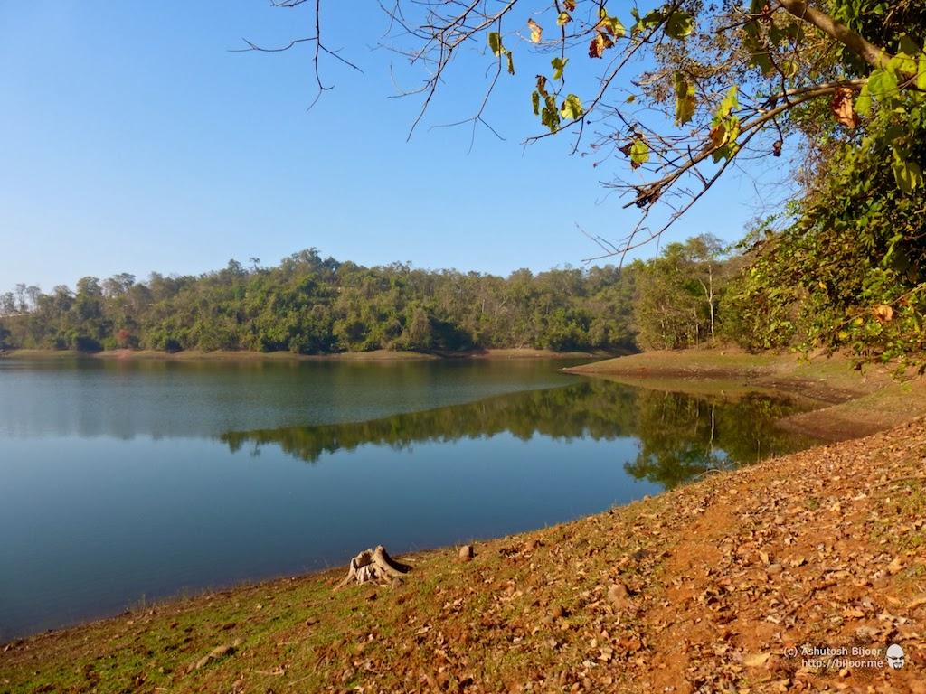cycling to barvi dam and lake bird watching paradise