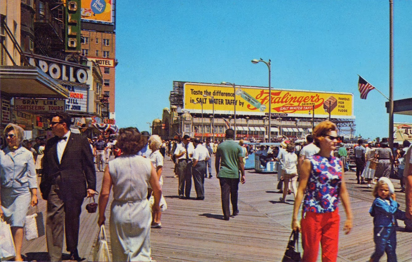 Vintage Atlantic City Boardwalk