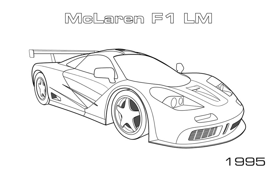 free coloring pages sport cars - photo#25