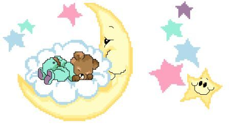 MOON STARS BABY BLANKET PATTERN | Free Baby Knitting Patterns