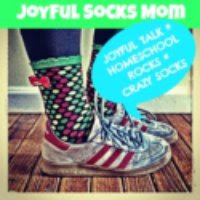 Joyful Socks Mom