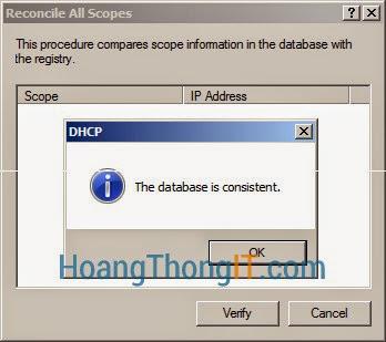 Cài đặt và cấu hình DHCP