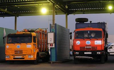 Pojazdy ciężarowe na CNG marki Kamaz