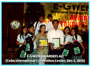 E'Gwen Awardees
