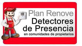 Plan de Instalación de Detectores de Presencia dirigido a las comunidades de propietarios
