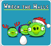 Angry Birds Wreck The Halls - Angry Birds Wreck The Halls