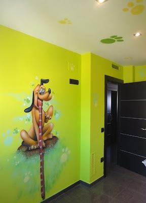 Berok graffiti mural profesional en barcelona - Habitaciones bebe barcelona ...