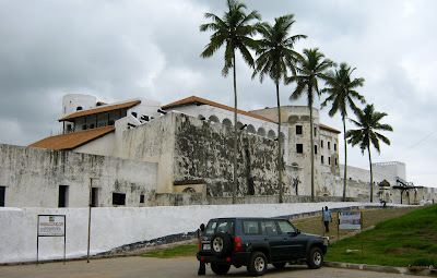 Elmina Castle, built by the invading Portuguese, 1486