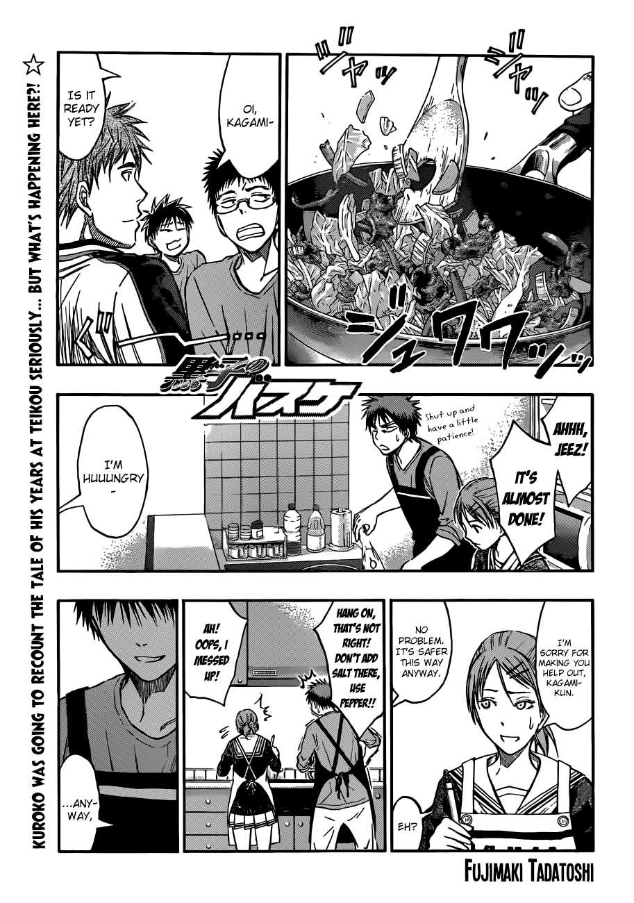 Kuroko no Basket Manga Chapter 204 - Image 01