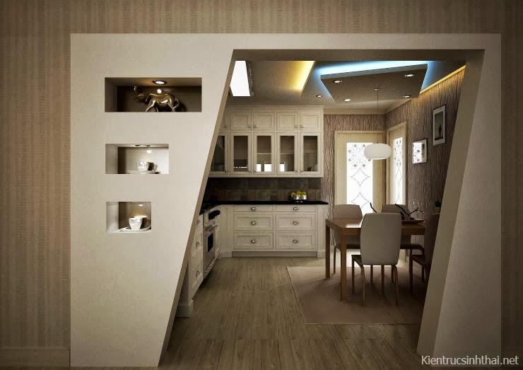 Thiết kế phòng bếp ăn