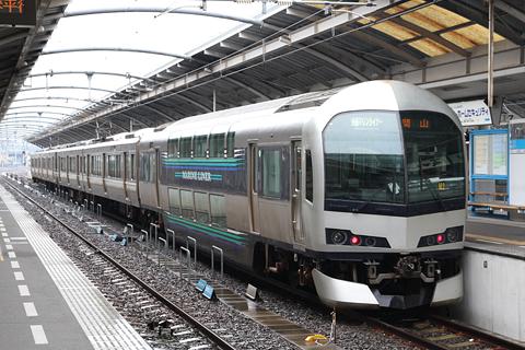 JR瀬戸大橋線 快速「マリンライナー」