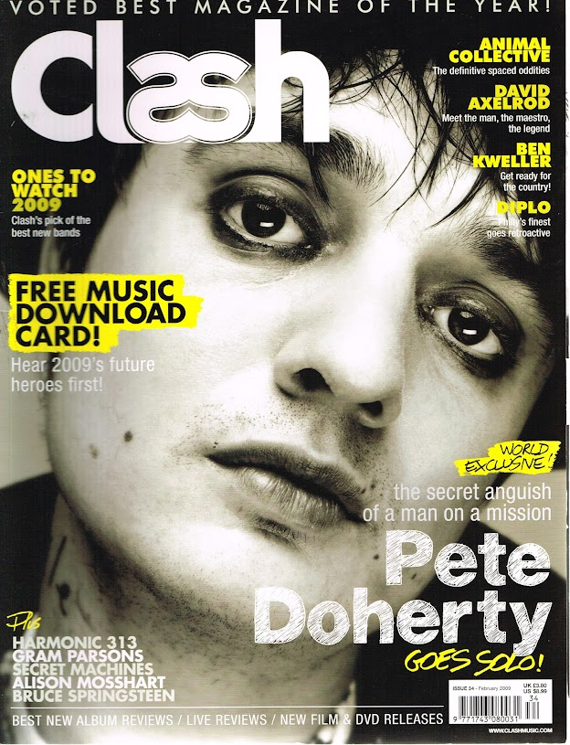 Details about CLASH Magazine #34 Pete Doherty ANIMAL COLLECTIVE David  Axelrod BEN KWELLER @NEW