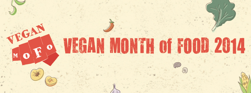Vegan MoFo 2014 Banner