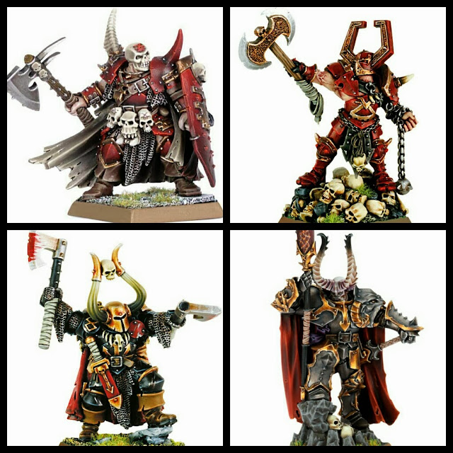 Comandantes del Caos Games Workshop