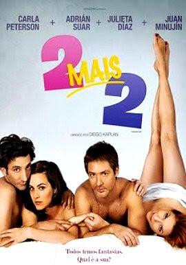 Filme Poster 2 Mais 2 DVDRip XviD Dual Audio & RMVB Dublado