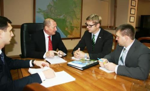 Встреча с руководителем немецкой компании Land-Data Eurosoft Берхардом Штюве