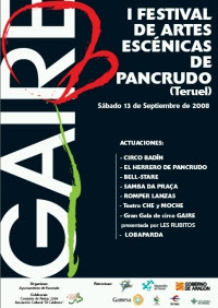 Cartel I Festival Gaire