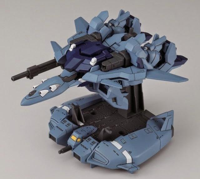 Delta Plus Super Deformed Gundam Unicorn nhỏ xinh, kết cấu đầy tính biểu cảm, sống động