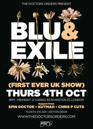Blu and Exile in London