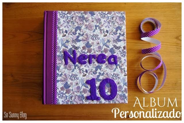 Album personalizado con tela diy customized fabric album for Portico vigo catalogo
