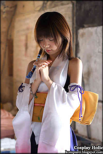 final fantasy x cosplay - yuna