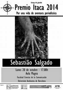 Premio Itaca 2014 Sebastiao Salgado