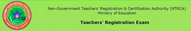 ntrca teachers' registration exam