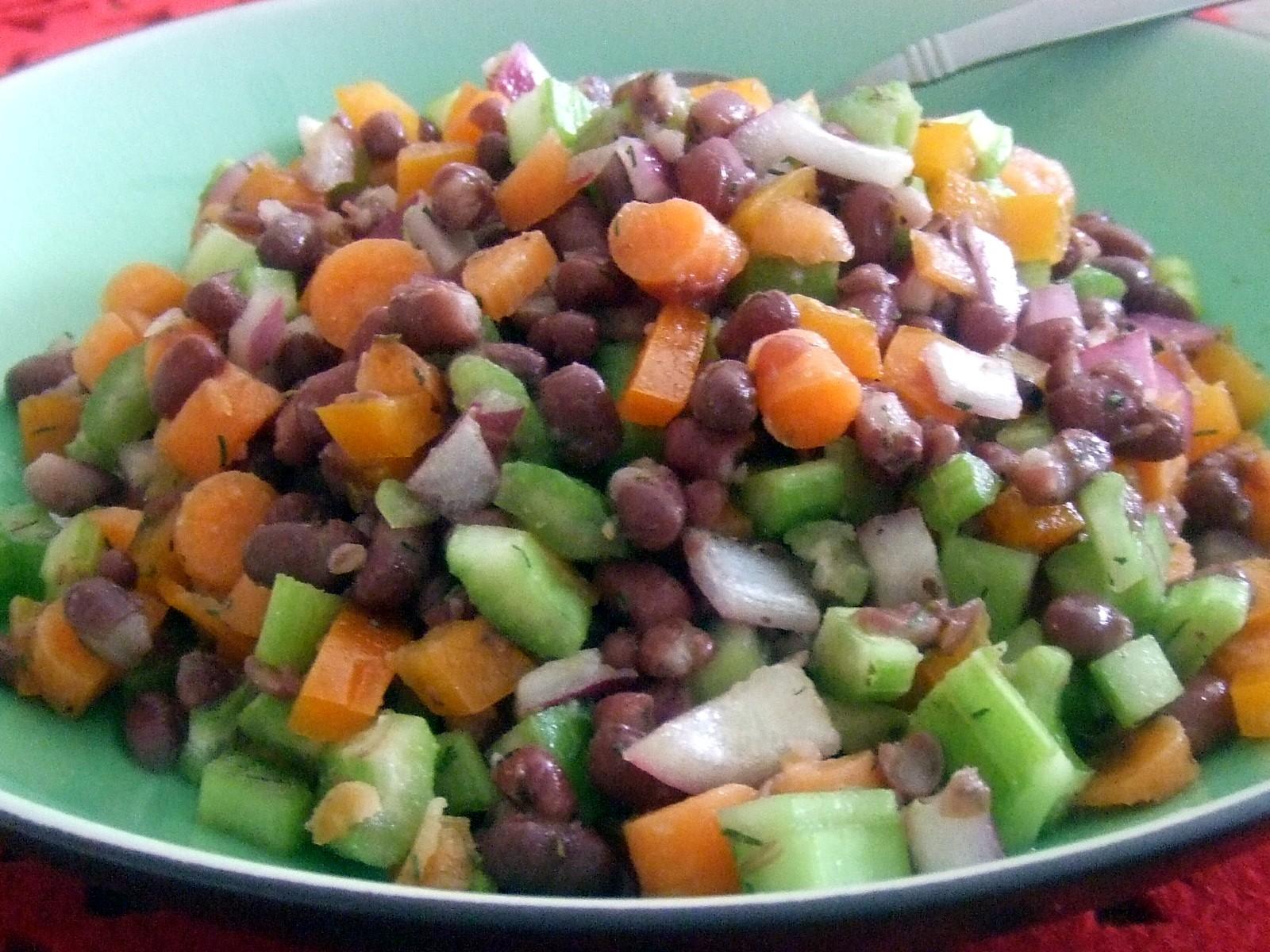 bean salad mixed bean salad mexican three bean salad aduki beans ...