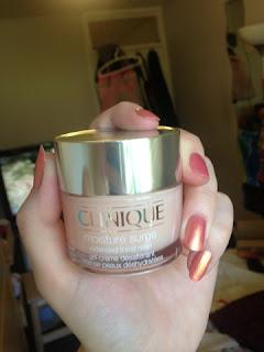 Clinique Moisture Surge Review moisturiser beauty blog