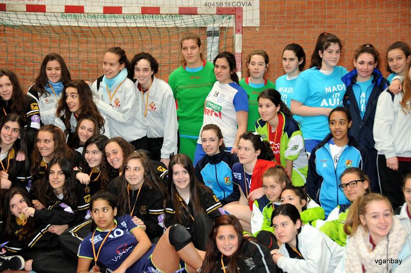 Campeonato Castilla y Le�n Cadete Femenino 2012