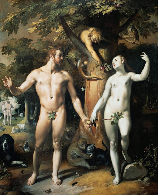 Cornelis Cornelisz van Haarlem - The Fall of Man