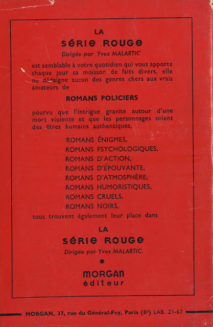 Couverture de polar : Pas d'avoine pour les toquards - Pour vous Madame, pour vous Monsieur, des publicités, illustrations et rédactionnels choisis avec amour dans des publications des années 50, 60 et 70. Popcards Factory vous offre des divertissements de qualité. Vous pouvez également nous retrouver sur www.popcards.fr et www.filmfix.fr   - For you Madame, for you Sir, advertising, illustrations and editorials lovingly selected in publications from the fourties, the sixties and the seventies. Popcards Factory offers quality entertainment. You may also find us on www.popcards.fr and www.filmfix.fr