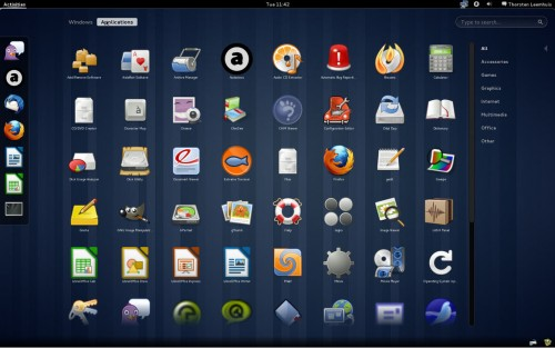 Second beta version of GNOME 3