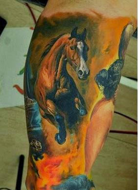 49 best horse tattoos designs and ideas 2018 designatattoo. Black Bedroom Furniture Sets. Home Design Ideas