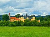 Замок и костел в Спишском Штявнике