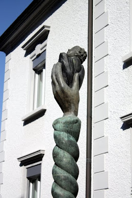 Sculpture in Vaduz, Liechtenstein