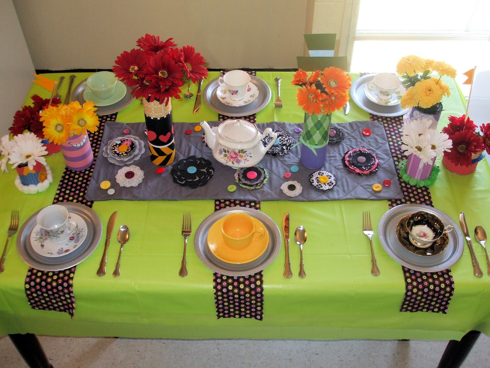 My Creative Stirrings Alice In Wonderland Birthday Party