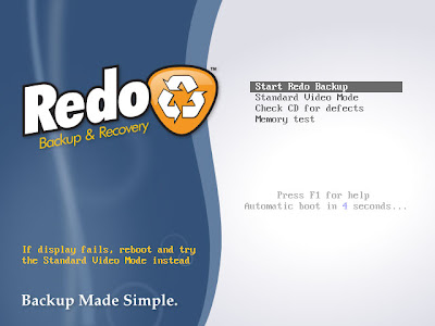 Redo Backup and Recovery 1.4