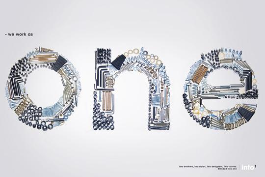 海報設計字體創意
