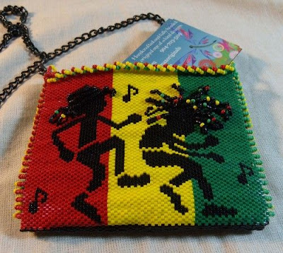 Reggae Dancing with the Beat Purse by Krafty Max Originals