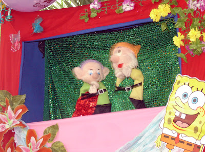 dwarf puppets